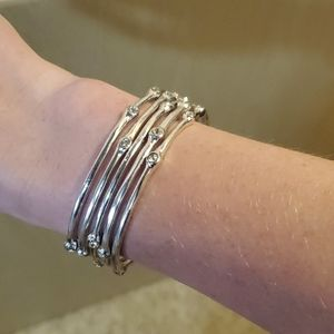Jewelry - Set of 5 Silver Bangles